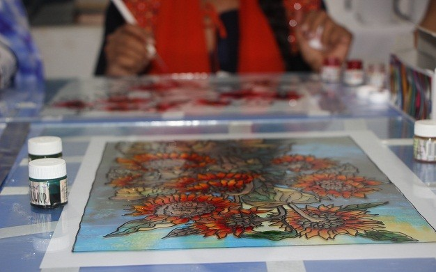 3D Glass Paint Workshop